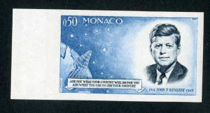 Monaco Stamps # 596 Superb OG NH Imperforate