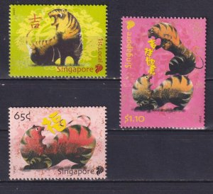 Singapore 2010 Chinese New Year - Year of the Tiger  (MNH)  - New Year