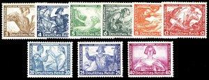 GERMANY B49-57  Mint (ID # 96948)