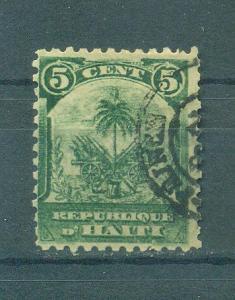 Haiti sc# 49 (1) used cat value $.40