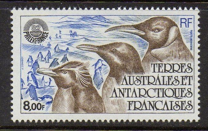FSAT TAAF 1982 Penguins Birds VF MNH (C70)
