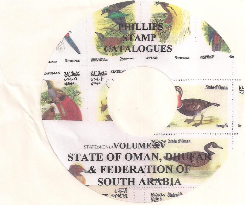 Oman State, Dhufar & South Arabia - CD Catalogue - 2016
