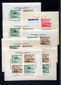 SPAIN 1936/37 Civil War Sheets MNH x  11(NT 9203