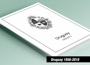 PRINTED URUGUAY 1856-2010 STAMP ALBUM PAGES (300 pages)