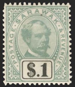 Sarawak Scott 8-21 Variety Gibbons 8-21 Variety Mint Set of Stamps