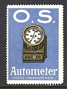 Germany Cinderella O.S. Autometer Time Clock