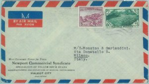 86181 - PAKISTAN - POSTAL HISTORY -  Airmail  COVER to ITALY  1962