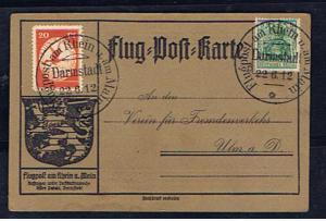 GERMANY 1912 RHEIN MAIN FLIGHT
