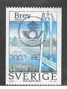 Sweden #2239 Bridge (U) CV $0.75