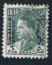 Iraq O76 Used King Ghazi overprint (BP8014)