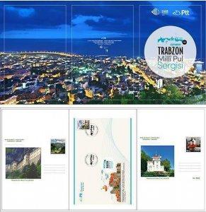 TURKEY/2018 - (PORTFOLIO) TRABZON NATIONAL STAMP EXHIB. (1 -1.500 NUMBERED)