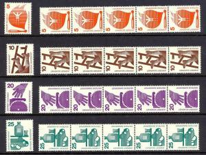 Germany1971-2 Scott 1074-81 scv $29.50 BIN $5.90 Save 80%