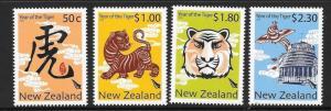 NEW ZEALAND SG3187/90 2010 CHINESE NEW YEAR MNH