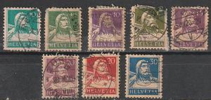 #168,168C,169,171,172,174,175,180 Switzerland Used