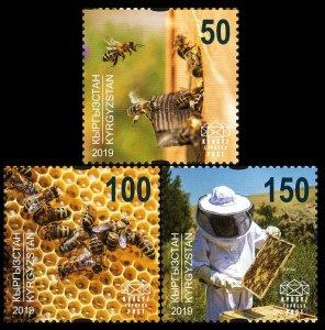 2019 Kyrgyzstan EP140-142 Beekeeping
