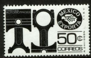 MEXICO Exporta 1112b 50c Pistons/parts Unwmk Fluor Paper 6