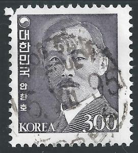 Korea #1265 300w Ahn Chang-ho - Independence Fighter