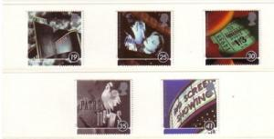 Great Britain Sc 1658-62 1996 Movies stamps mint NH