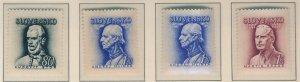 Slovakia Stamp Scott #83, 93, 94, 94A, Mint Hinged - Free U.S. Shipping, Free...