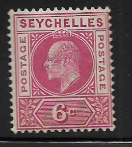 SEYCHELLES, 40,  HINGED, KING GEORGE V