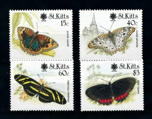 [98981] St. Kitts 1990 Insects Butterflies Overprint Osaka Expo MNH