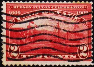 U.S.A. 1909 2c S.G.379 Fine Used