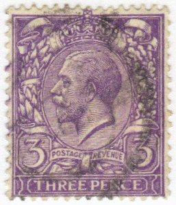 Great Britain #164 used - 3p king