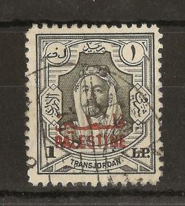 Palestine 1948 £P1 SG.P16 Fine Used Cat£75
