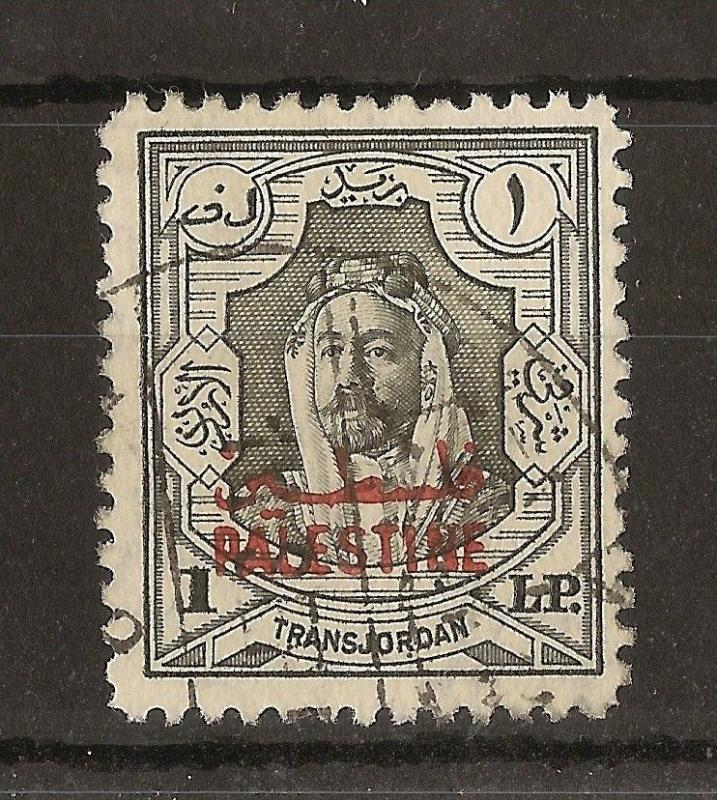 Palestine 1948 £P1 SG.P16 Fine Used Cat£75