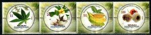 256 - MACEDONIA 2017 - FLORA FROM MACEDONIA – INDUSTRIAL PLANTS - MNH Set