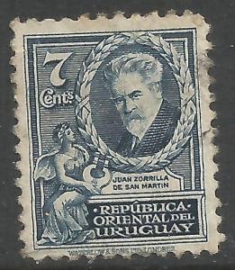 URUGUAY 446 VFU 50F-6