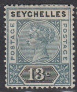 SEYCHELLES - Sc 9 / MINT HR - Victoria