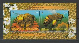 Bosnia and Herzegovina 2004 Bees MNH Block