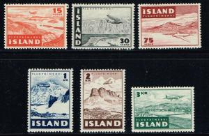 Iceland # C21 - C26 MH