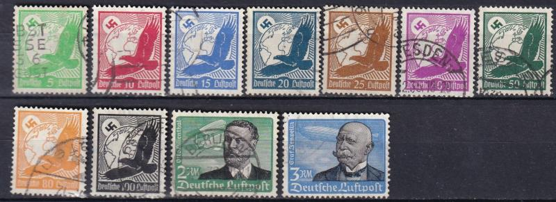 Germany #C46-56   F-VF Used  CV $80.65  Z111