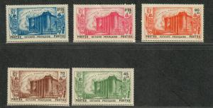 Fr. Guiana Sc#B4-B8 M/H/VF, Complete Set, Cv. $57.50
