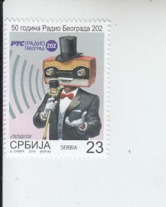 2019 Serbia Radio Belgrade    (Scott 850) MNH