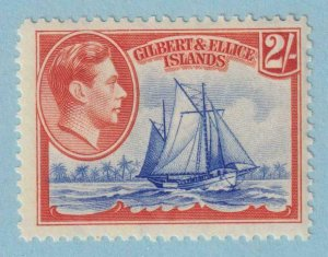 GILBERT & ELLICE ISLANDS 49 MINT NEVER HINGED OG ** NO FAULTS EXTRA FINE !
