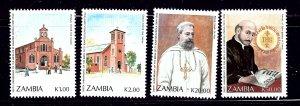 Zambia 553-56 MNH 1991 set    (ap1086)