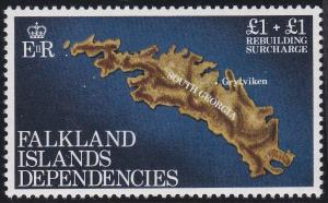 Falkland Islands - Dependencies 1LB1 MNH (1982)