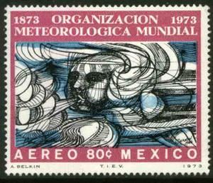 MEXICO C415 Centenary of Int Meteorological Organization MINT, NH. VF.