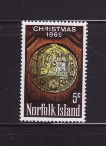 Norfolk Island 125 Set MH Christmas