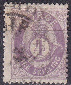 Norway #19 Used CV $72.50 (Z9595)