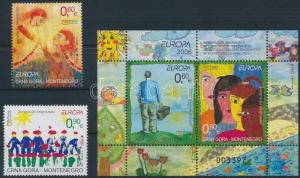 Montenegro stamp Europa CEPT,Integration set+block 2006 MNH WS222873