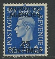 Great Britain-Morocco # 86 Geo.VI    (1) Unused
