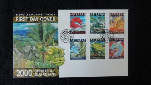 New Zealand 2000 FDC myths legends spirits and guardians fairy tales