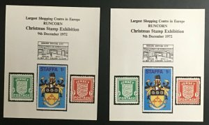 GB Christmas Stamp Exhibition - 1972