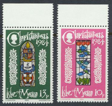 Isle of Man - SG 272-273  SC# 274-275  MUH  Christmas