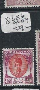 MALAYA KEDAH  (P2206B) LEAF  40C  SG  86    MOG