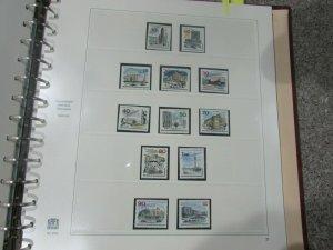 $Safe hingeless album Berlin 1948-1973 mint stamps inside